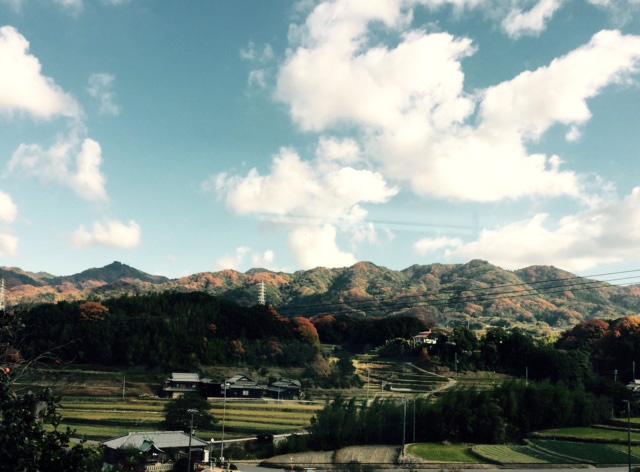 冬の訪れを感じる淡路島