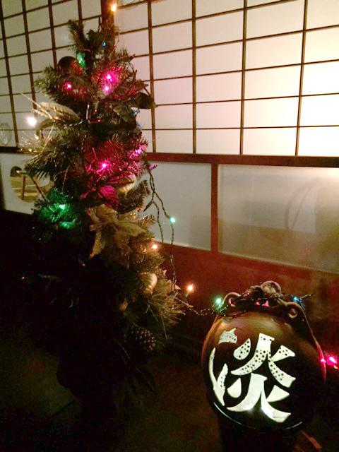 淡のクリスマスツリー